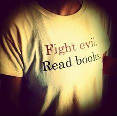 Books are good