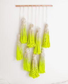 dip-dyed rope