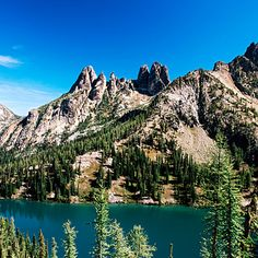 Blue Lake, Cascade Mountains