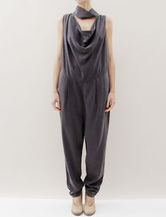 silk Wood Wood jumpsuit via Creatures of Comfort