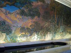 Tiffany's Dream Garden glass mural (Philadelphia/ Pennsylvania)