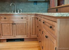 Maple kitchen cabinets from CliqStudios.com