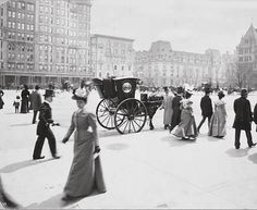 5th Avenue and 59th Street, New York City, 1897