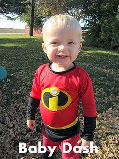 Dash! Baby Halloween costume