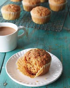 Muffins // Cinnamon-Carrot Muffins Recipe