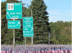 DRAW CONCLUSIONS: If the date is September 11th, why might you see something like this as you drive through town? List your ideas in your reading journal.