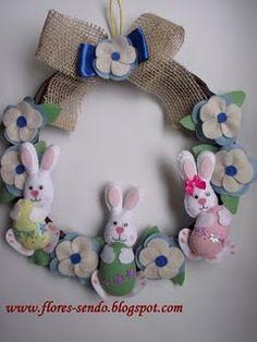 pasqua, easter wreaths, pascoa