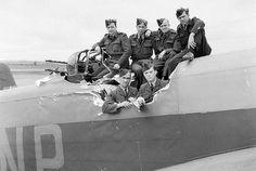 Handley Page Halifax B Mark II, HR837 'NP-F', of No. 158 Squadron RAF .