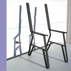 DIY Furniture Leg, Chair or Garden Bench Frame with Back, Iron Frame Leg Hardware,  Unfinished. $57.00, via Etsy.