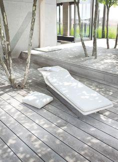 terrac, chaise lounges, tree, exterior, outdoor, garden furniture, wood decks, deck patio, sun kissed