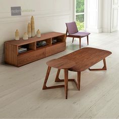 Simple and sleek, we love the Park West living room tables. Keep it simple. #interiordesign #livingroom #sidetable #coffeetable
