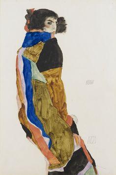 Egon Schiele, Moa.