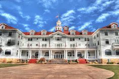 Stanley Hotel--the hotel that was the inspiration for the Shining
