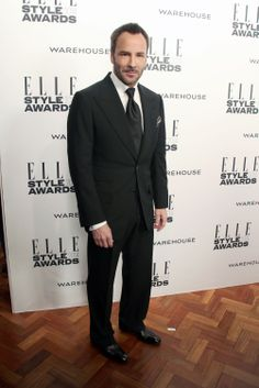 Tom Ford attends the ELLE Style Awards 2014.