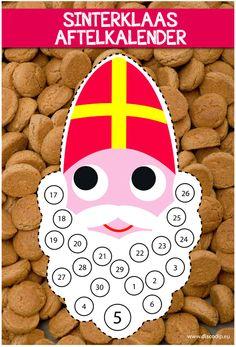 Sinterklaas is weer aangekomenin Nederland, en de spannendedagen tot aan 5 december zijnbegonnen. Om dit iets leukeren makkelijker te maken voorde kids, is er de discodip aftelkalender. Je vindt de kalenderop deze link ,klik op downloaden, maak een printjeen het aftellen kan beginnen.Veel plezier de komende weken..