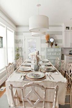 39 Beautiful Shabby Chic Dining Room Design Ideas | DigsDigs