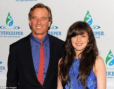 Democrat royalty: Kick, pictured in April, is the only daughter of Robert F. Kennedy Jr and his first wife Emily