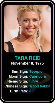 Celeb #Scorpio birthdays: Tara Reid's astrology info! Sign up here to see more: https://www.astroconnects.com/galleries/celeb-birthday-gallery/scorpio?start=90  #astrology #horoscope #zodiac #birthchart #natalchart #tarareid