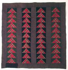 Wild Goose Chase Quilt, Maryland ~ 1870