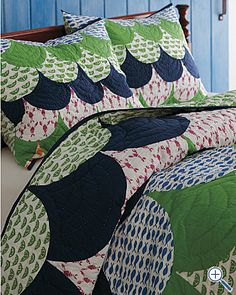 Nantucket Awning Quilt and Sham