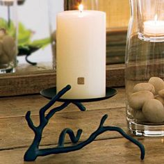 Gaia Branch Candle Holder  Reg Price:  $25.00 each   SALE Price: $10.00 each