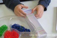 DIY Rainbow Loom Musical Instruments by Teach Preschool