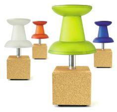 Push Pin Lamp... for those of us that love office supplies