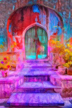 Door, Old Delhi, India -  Jim Zuckerman