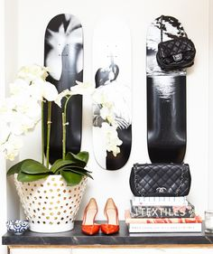 Because cool girls skate: http://www.thecoveteur.com/home-decor-ideas/