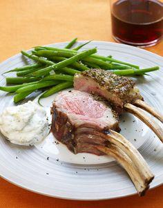 Ina Garten's Lamb with Easy Tzatziki