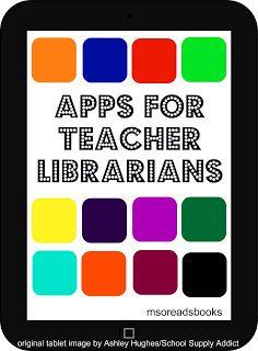 Apps for Teacher Librarians part 1