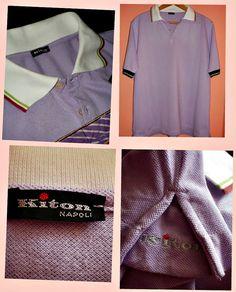 Kiton Napoli Authentic handmade polo shirt by Dressyouwant on Etsy, €70.00
