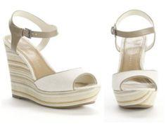 LC Lauren Conrad Platform Wedge Sandals from Kohl's