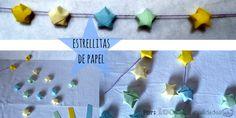 Estrellita de papel (origami)