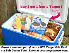 $75 Target Gift Card + Soft Cooler