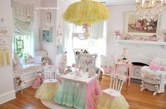 My daughters girlie room