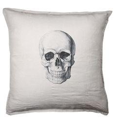 decor, skulls, interior, bone, cushions