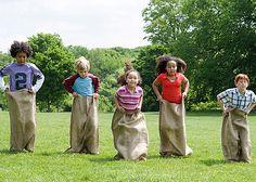 famili reunion, sack, backyard game, summer parties, family reunions