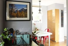 Melissa and Ramzy's Colorful, Creative & Comfortable Home this pantry makes me happy