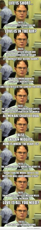 oh Dwight.