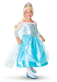 Elsa Costume Collection for Girls costum collect, girl, kid costumes, frozen parti, dress shoes, elsa costumes for kids, frozen birthday, elsa frozen halloween costumes, disney frozen