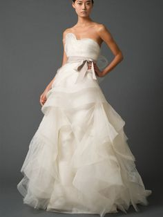 Luxury Modified A-Line Sweetheart Bridal Gown With Draped Peplum Bodice