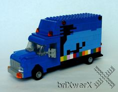 LEGO Bookmobile de la Warren-Newport Public Library (Florida)