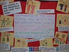 Chalk Talk: A Kindergarten Blog: Constitution  Day