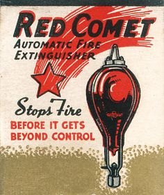 Red Comet fire extinguisher