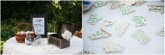 A unique and very sweet idea for guests! #FearringtonWedding #FearringtonVillage | Photographed by @krystalkast photography