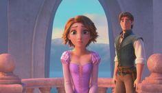 short-haired Rapunzel