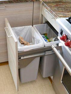 kitchen recycling organization