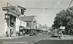 Brooksville, Fl in the old days