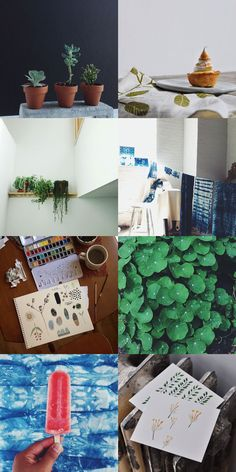 Bloesem living | #B.Instagood | A peak at Bloesem class teacher, Arounna of Bookhou, instagram feed before she arrives in Singapore to teach Shibori dyeing and water color painting